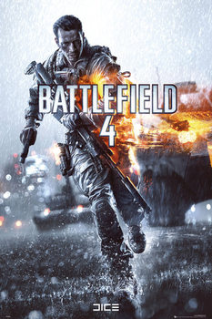Battlefield 4 - cover  Poster, Art Print
