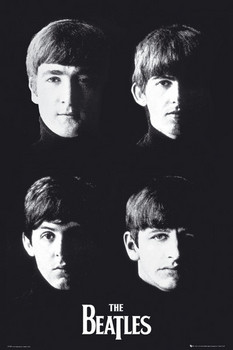 Beatles - with the Poster, Art Print