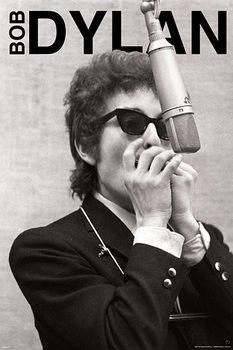 Bob Dylan - harmonica Poster, Art Print
