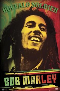 Bob Marley - buffalo Poster, Art Print