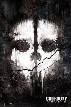 Call of Duty Ghosts - skull  Poster, Art Print