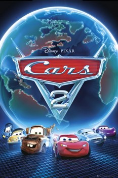 CARS 2 - one sheet posters | art prints
