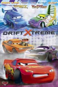CARS - drift extreme posters | art prints