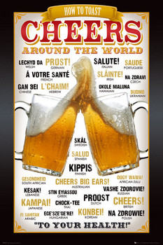 CHEERS - around the world posters | art prints
