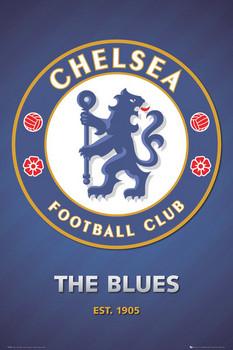 Chelsea - club crest 2013 Poster, Art Print