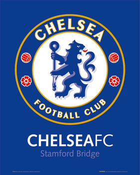 CHELSEA - club crest posters | art prints