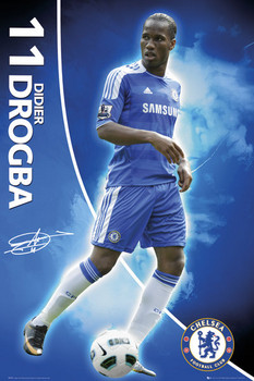 CHELSEA - drogba 11/12 posters | art prints