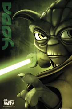 CLONE WARS - yoda posters | art prints