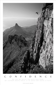 CONFIDENCE - table top mountain south africa posters | art prints