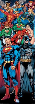 DC COMICS - justice league of america Poster, Art Print