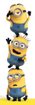 Despicable Me - 3 Minions Poster, Art Print