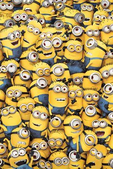 Despicable Me - Many Minions Poster, Art Print