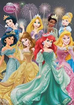 Disney Princess - Group Poster, Art Print