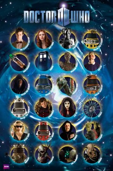 DOCTOR WHO - characters posters | art prints