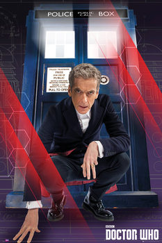 Doctor Who - Crouching Poster, Art Print