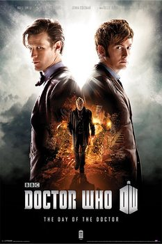 DOCTOR WHO - day of the doctor Poster, Art Print