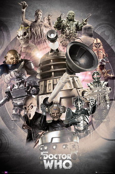 DOCTOR WHO - enemies posters | art prints