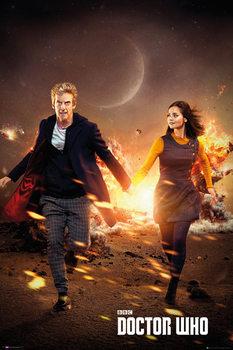Doctor Who - Run Poster, Art Print