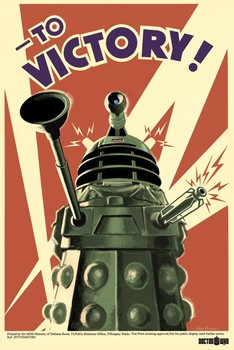 DOCTOR WHO - to victory Poster, Art Print