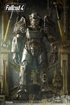 Fallout 4 – Key Art Poster Poster, Art Print
