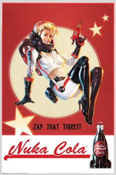Fallout 4 - Nuka Cola Poster, Art Print