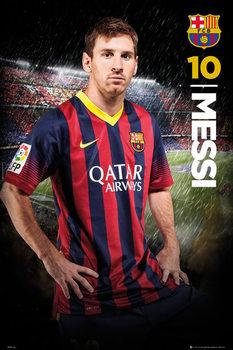 FC Barcelona - Messi 14/15 Poster, Art Print
