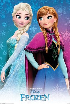 Frozen - Sisters Poster, Art Print