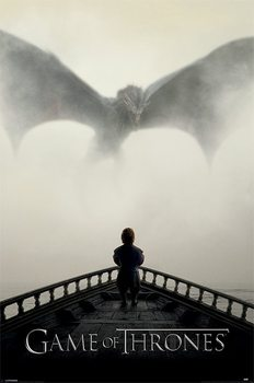 Game Of Thrones - A Lion & A Dragon Poster, Art Print