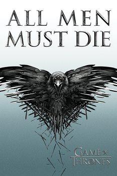 Game of Thrones - All Men Must Die Poster, Art Print