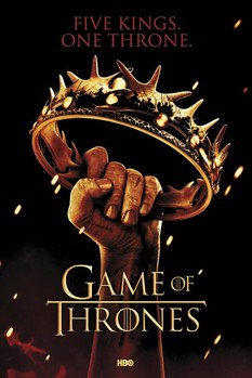 GAME OF THRONES - crown Poster, Art Print