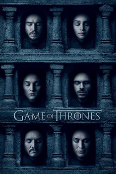 Game of Thrones - Hall of Faces Poster, Art Print
