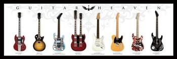 Guitar heaven Poster, Art Print