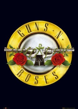 GUNSNROSES - logo posters | art prints