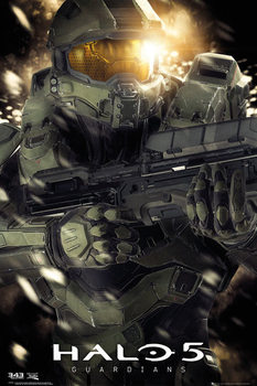 Halo 5 - Master chief Poster, Art Print