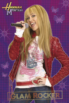 HANNAH MONTANA - glam rocker posters | art prints