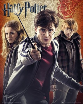 HARRY POTTER 7 - trio posters | art prints