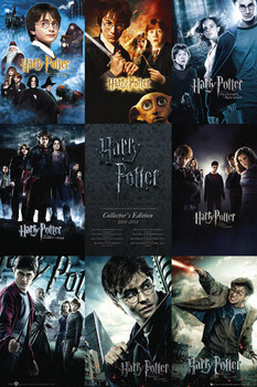 HARRY POTTER - collection Poster, Art Print