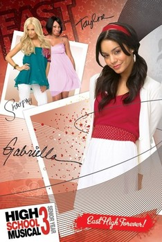 HIGH SCHOOL MUSICAL 3 - gabriella posters | art prints