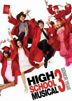 HIGH SCHOOL MUSICAL 3 - graduation jump Poster, Art Print