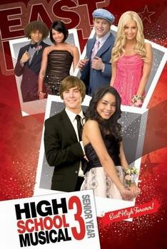 HIGH SCHOOL MUSICAL 3 Poster, Art Print
