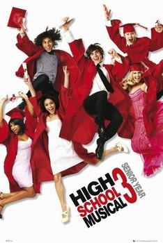HIGH SCHOOL MUSICAL 3 - one sheet Poster, Art Print