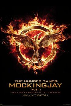 Hunger Games: Mockingjay Part 1 - Mockingjay Poster, Art Print