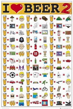 I LOVE BEER II posters | art prints