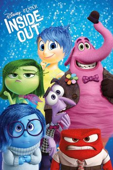 Inside Out - Characters Poster, Art Print