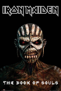 Iron Maiden - The Book Of Souls Poster, Art Print
