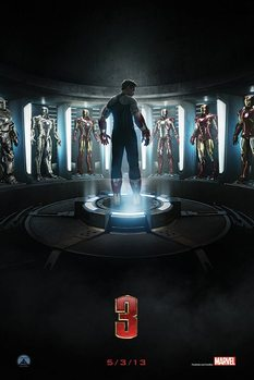IRON MAN 3 - teaser posters | art prints