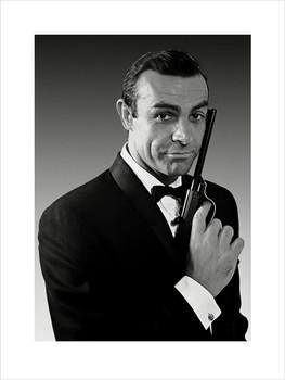 James Bond 007 - Connery  Art Print