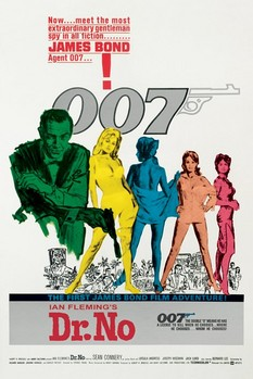 JAMES BOND 007 - dr no posters | art prints