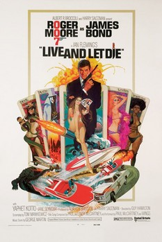 JAMES BOND 007 - live and let die posters | art prints