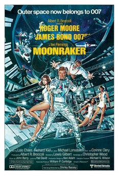 JAMES BOND 007 - moonraker posters | art prints